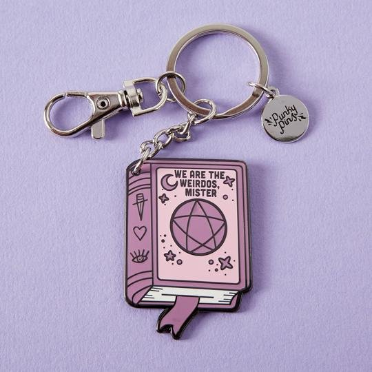 We Are the Weirdos, Mister (Book of Shadows) Keyring - Punky Pins