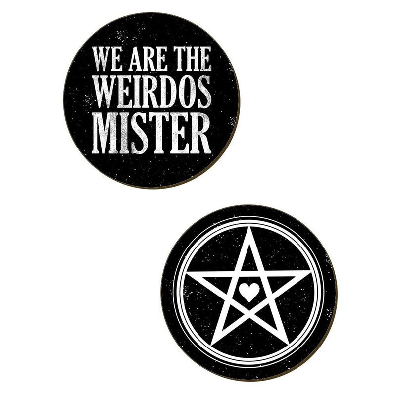 We Are The Weirdos Mister Coaster Set - Grindstore