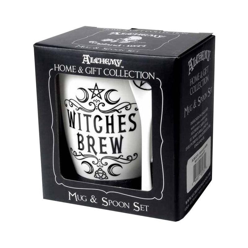 Witches Brew Mug and Spoon Set - Alchemy