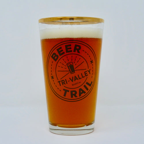 Beer Trail Pint Glass
