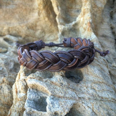Braided Leather Bracelet - LavHā