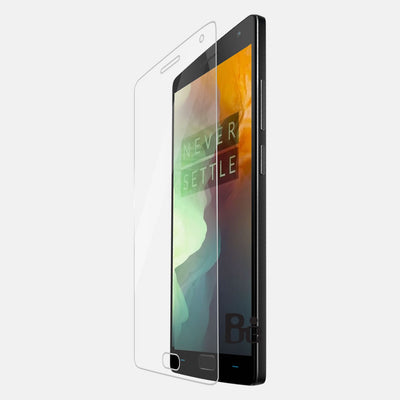 One Plus 2 Tempered Glass Screen Protector HD Clarity With Free Offer