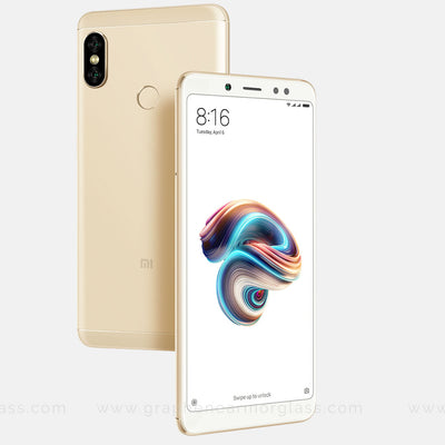 Redmi 5 Pro White Color Gold Color Full 3D 2.5D tempered Glass online India best rated