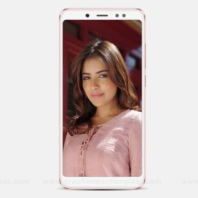 Redmi 5 Pro White Full 3D 2.5D tempered Glass online India best rated