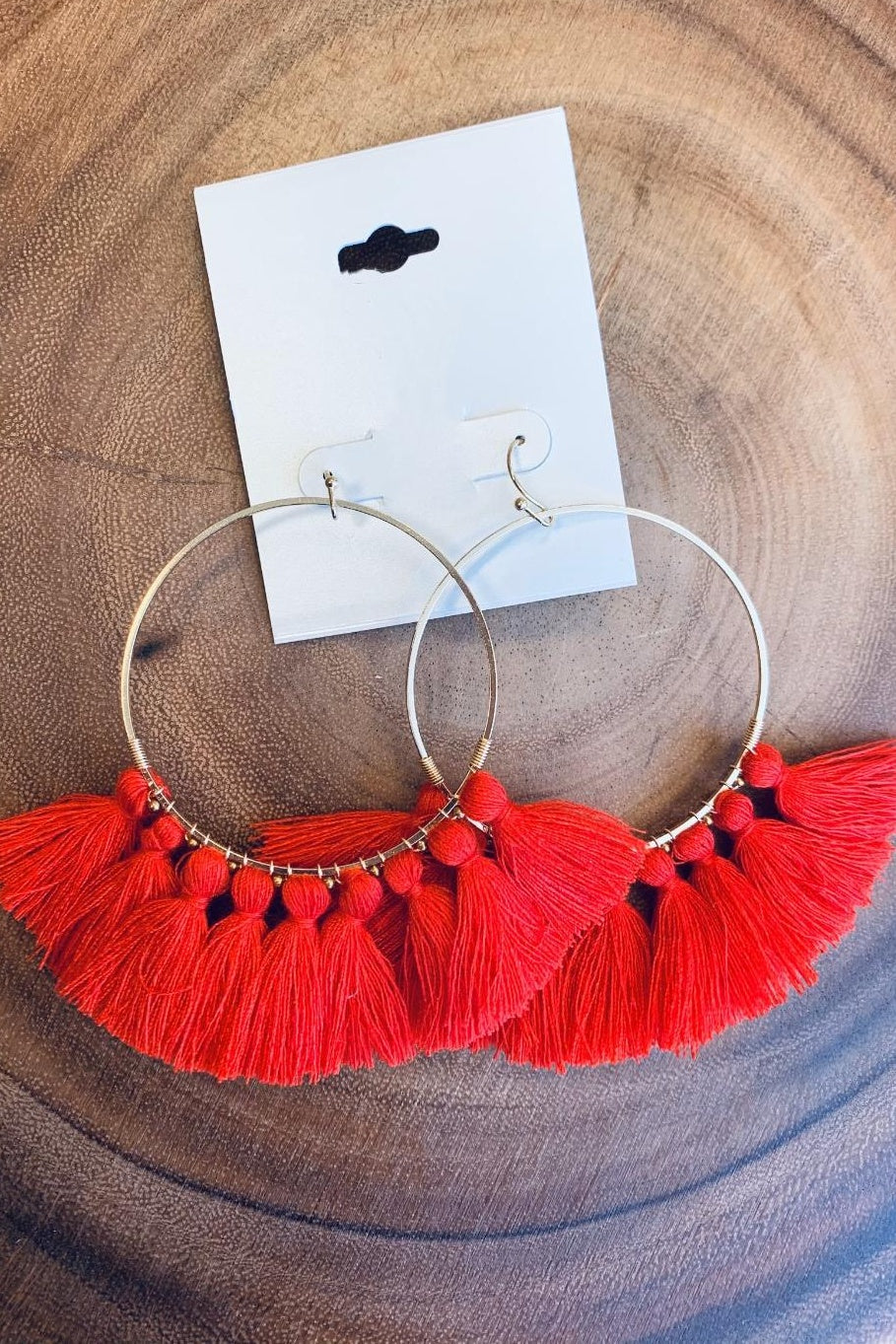 Red Hot Earrings