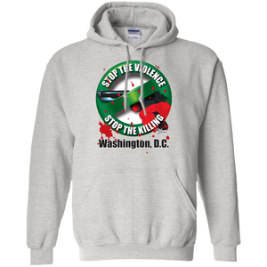 Stop the Killing Washington D.C. - Pullover Hoodie 8 oz.
