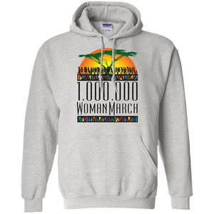 Million Woman Color Pullover Hoodie 8 oz.
