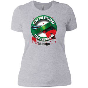 Stop the Killing Chicago Ladies' T-Shirt