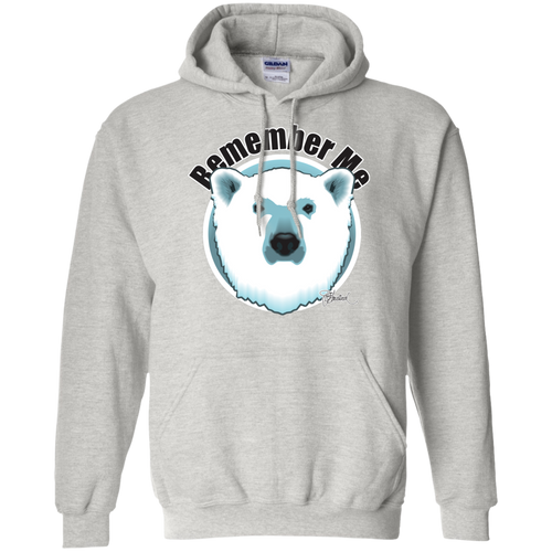 Remember Polar Bears Pullover Hoodie