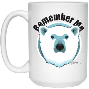 Remember Polar Bears Coffee Mug