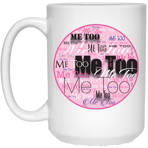 Me Too Voices 15 oz. White Mug
