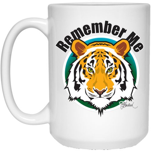Remember Tigers 15 oz. White Mug