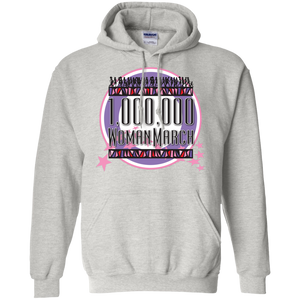 Million Woman March Pullover Hoodie 8 oz.