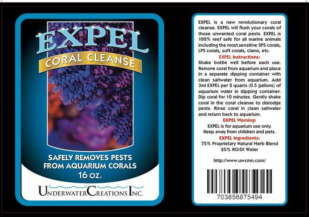 Vibrant Expel Coral Clean
