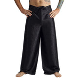 'Wrap Pants' Silk Black - zootzu