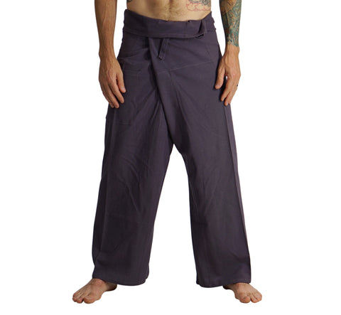 Thai Fisherman Pants - Dark Grey
