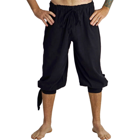 'Buccaneer' Pirate Pants - Black