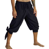 'Buccaneer' Pirate Pants - Black - zootzu