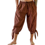 'Buccaneer' Pirate Pants - Stonewashed Brown - zootzu