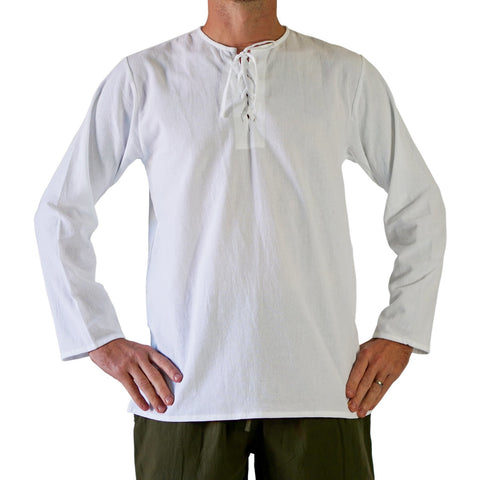 'Rover' Medieval Shirt - White