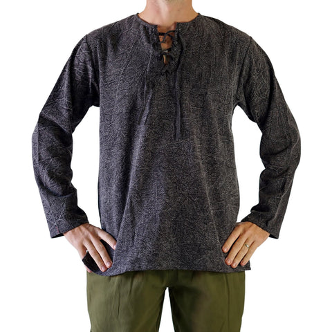 'Rover' Medieval Shirt - Stone Gray