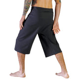 Short Thai Fisherman Pants -  Grey - zootzu