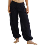'Breezy' Gypsy Pants - Black - zootzu