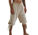 'Buccaneer' Pirate Pants - Natural/Off White - zootzu