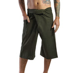 Short Thai Fisherman Pants - Green