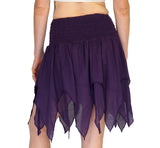 'Fairy' Gypsy Pirate Pixie Skirt - Purple - zootzu