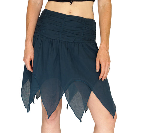 'Fairy' Gypsy Pirate Pixie Skirt - Teal