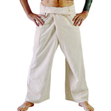 Thai Fisherman Pants - Cream - zootzu