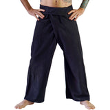 Thai Fisherman Pants - Black - zootzu