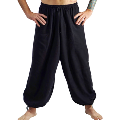Baggy Pirate Pants - Black