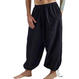 Baggy Pirate Pants - Black - zootzu