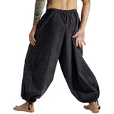 Baggy Pirate Pants - Stonewashed Gray - zootzu