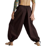 Baggy Pirate Pants - Dark Brown - zootzu