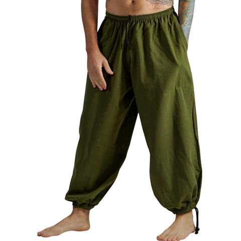 Baggy Pirate Pants - Fern Green