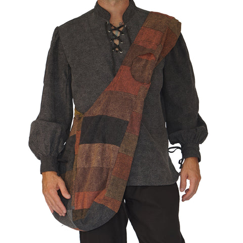 'MONK BAG' Messenger - Patchwork