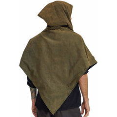 'HOODED COWL' Viking - STONE GREEN/BLACK
