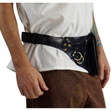 'Satchel' Leather Utility Belt  - Black - zootzu