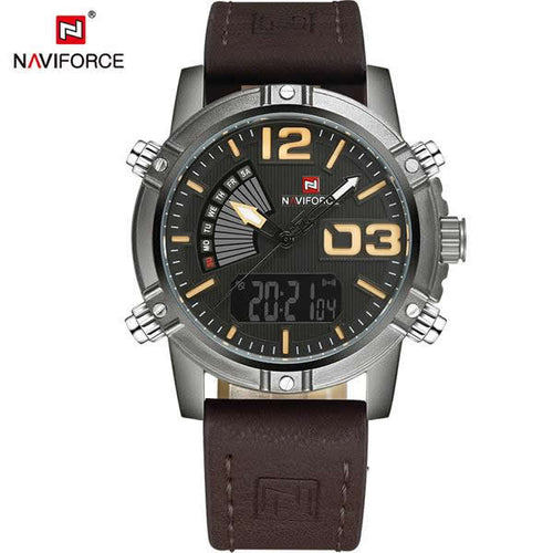 NAVIFORCE Mens' Outdoors Military Watch N9095-1