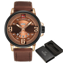 NAVIFORCE Mens' Outdoor Luxury Watch in Leather Strap N9086-1