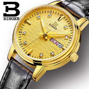 Binger Swiss Womens' Quartz Wrist watch 3036