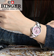 Binger Swiss Womens' Ceramic Wrist Watch 649