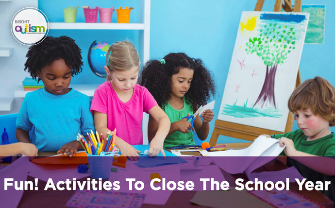 Bye bye school year!. Activities to close the school year