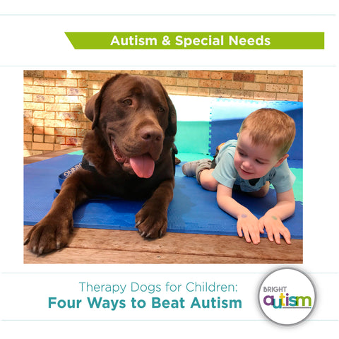 Some Kids Really Do Beat Autism And >> How Dogs Can Help Children With Autism Bright Autism