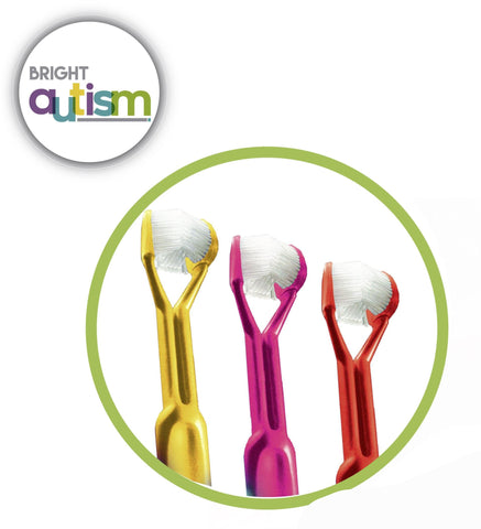Toothbrush Designed For Autism - 3Pack (25%OFF)