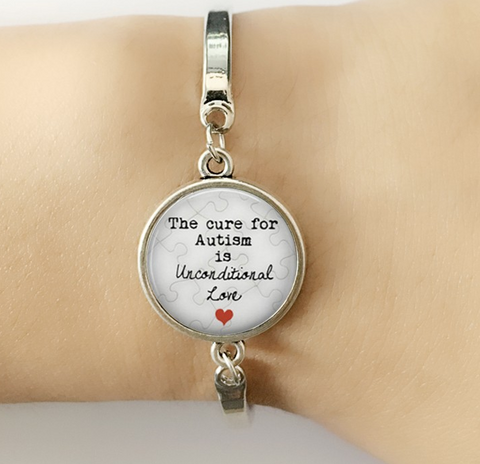 Autism Unconditional Love Bracelet