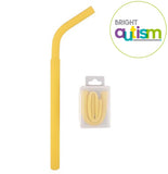 Silicone Biting Straw For Autism Portable Version